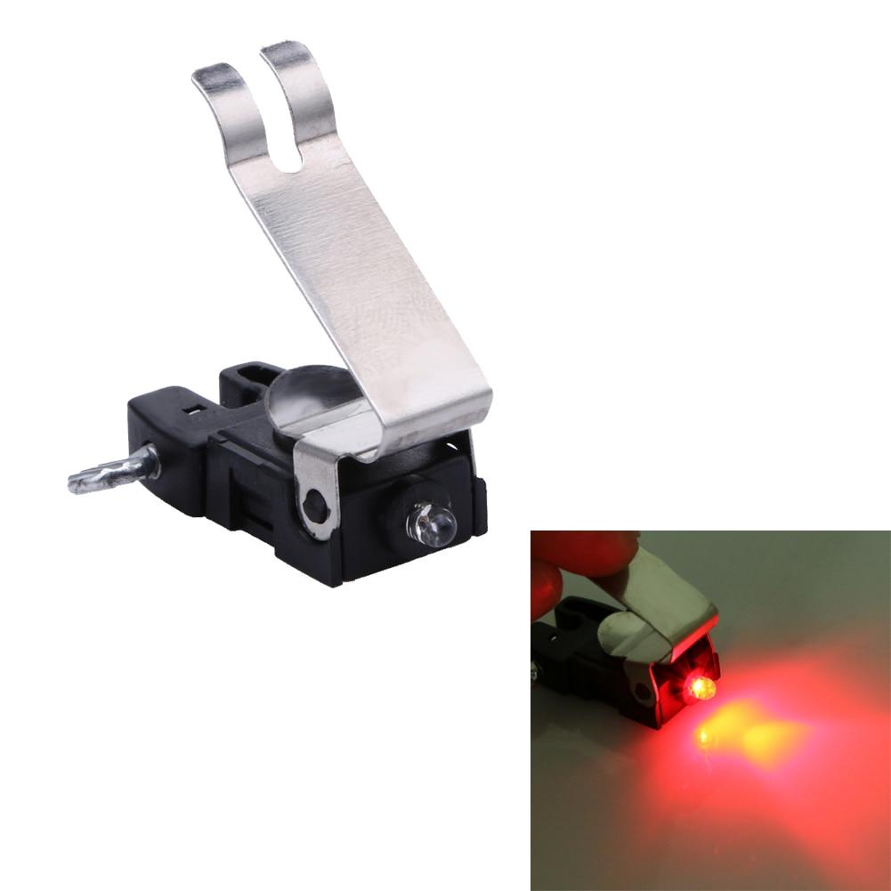 Portable mini brake bike light mount tail rear cycling plastic led light high brightness waterproof red