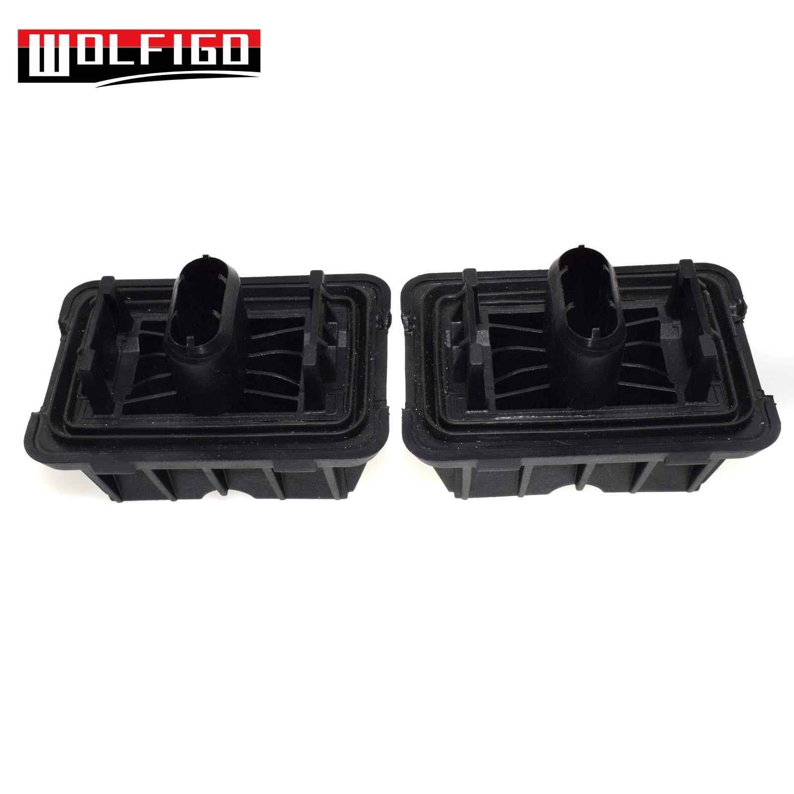 WOLFIGO ชุด 2PCS สำหรับ BMW E82 E90 แจ็คแผ่นภายใต้รถสนับสนุนสำหรับยกรถ 51717237195 ใหม่