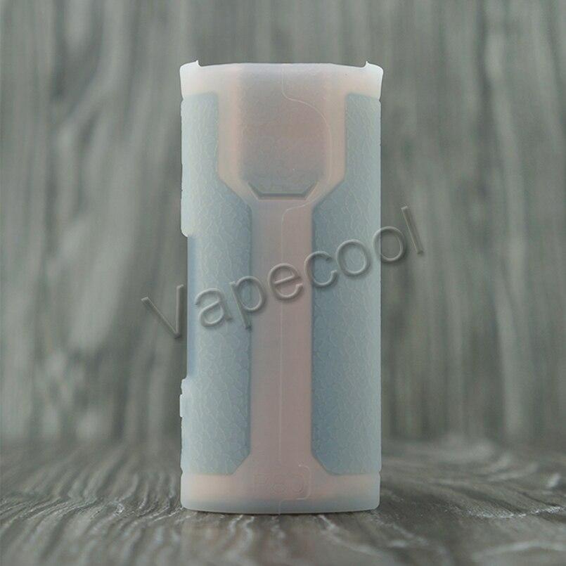 2 stücke Wismec SINUOUS P80 80 W fall vape mod NON-SLIP textur schutzhülle gummi silikon Abdeckung Hülse Haut Schild Pouch shell