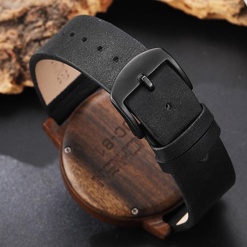 HTB1lVKqlb3nBKNjSZFMq6yUSFXah Creative Mens Walnut Wood Watch Male Wooden Leather Real Natural Rosewood Men Wrist Watch Men's Compass Turntable Wristwatch