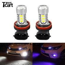 Tcart Auto H11 LED Della Luce di Nebbia Lampadine Auto di Guida Lampade Per Toyota Corolla 2008-2015 2016 2017 Accessori