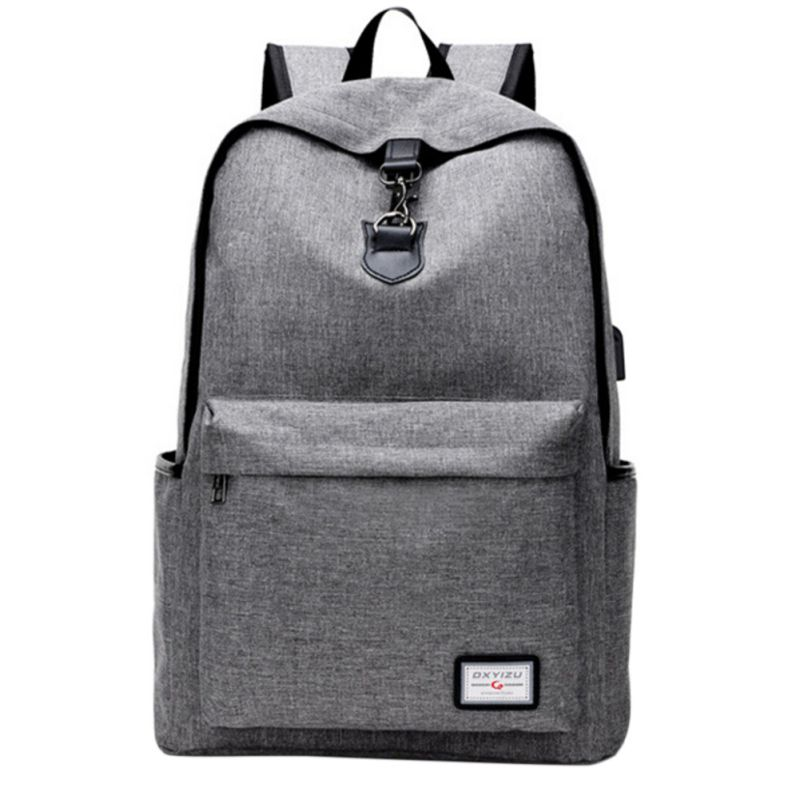 USB Charging Men's Backpacks Male  Travel Camping Teenagers Student School Bags Simple Notebook Laptop Bags New рюкзаки zipit рюкзак shell backpacks