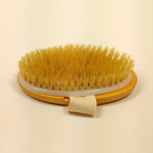Natural Bristles brush Body Massage Health Care Bath