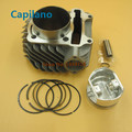 motorcycle 61 mm GY6 125 150 cylinder kit engine block kit with piston kit GY6 125cc 150cc in modified big bore 61mm