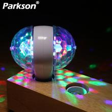 RGB 6W Crystal Magic ball E27 Led Stage Lamp DJ KTV par Disco Light Laser Party Lights Christmas Projector Dj Party Disco