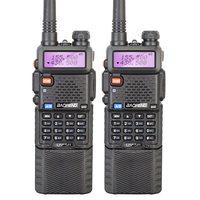 2PCS LOT Baofeng UV 5R 3800 Walkie Talkie 5W Dual Band Portable Radio UHF 400 520MHz