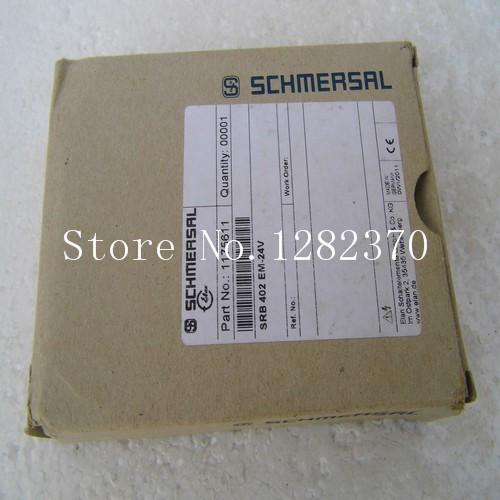 [SA] New original authentic special sales SCHMERSAL safety relays SRB402EM-24V spot [sa] new original authentic spot celduc solid state relays so889060 2pcs lot