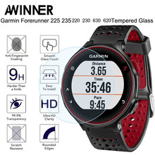 Tempered Glass Protective Film Clear Guard For Garmin Forerunner 235 225 230 220 620 630 Watch Screen Protector Cover(China)