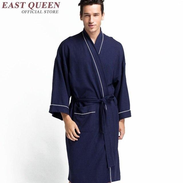 Men gown home bathrobe female 2016 new arrival male sleepwear fashion women men luxury brand male bathrobe   AA845