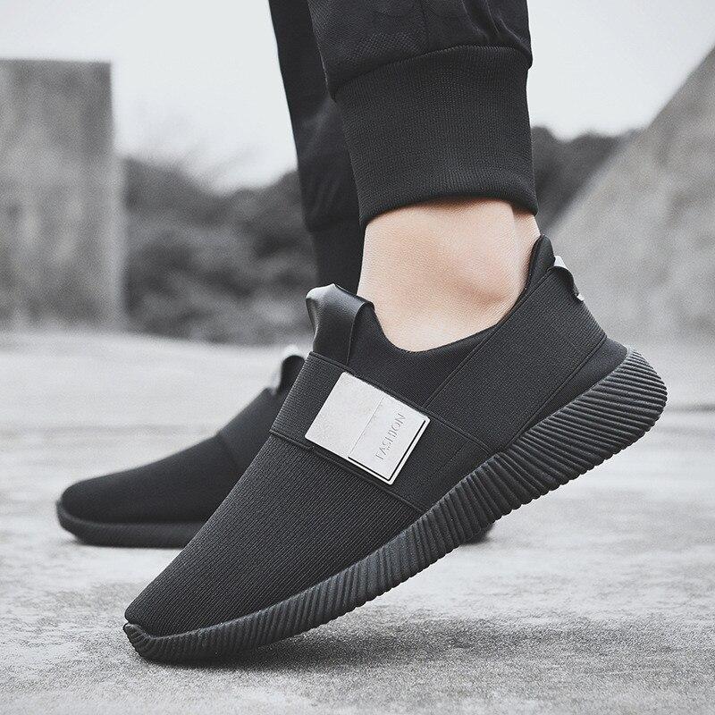 De Respirant rouge Slipon Chaussures Footwears Mocassins Confortable Sneakers Hommes D'été Sport gris Mesh Populaire Marche Noir Printemps 2019 Uzw5pfTwq
