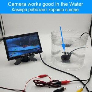 Image 5 - XCGaoon металлическая CCD Автомобильная камера заднего вида ночная версия Водонепроницаемая широкоугольная резервная камера, улучшенные линзы для ночного видения