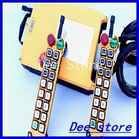 2 Speed 2 Transmitter 15 Channels Hoist Crane Industrial Truck Radio Remote Control System Controller