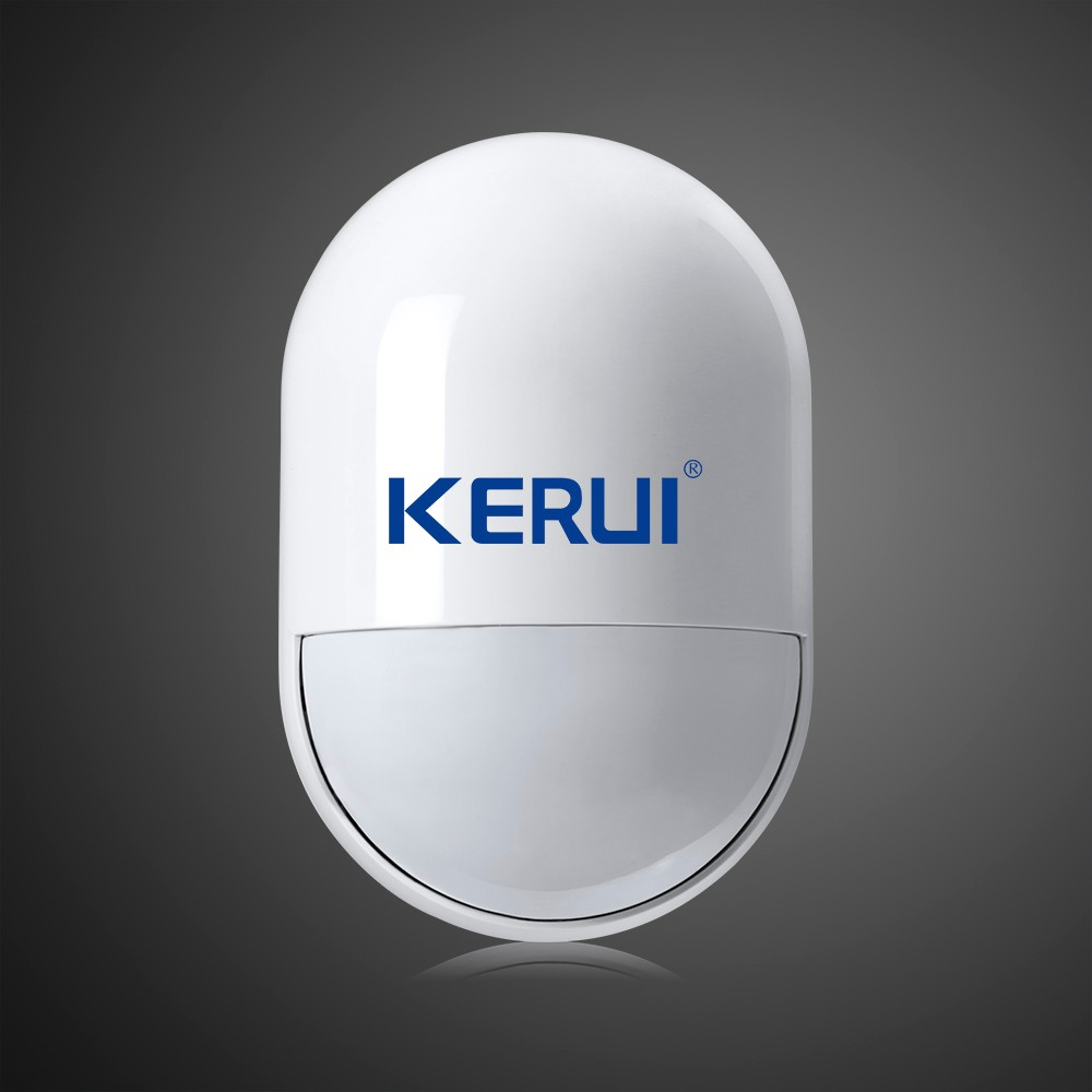 KERUI Wireless Motion PIR Detector 433MHz  Movement Sensor For Wifi GSM PSTN Home Security Voice Alarm System big promotions pir infrared beam motion detector for home security gsm wifi pstn alarm system wired wireless beam sensor