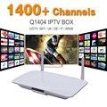 Arábica caixa de IPTV inteligente Android Europa Arabox 1400 + IP TV Caixa de TV árabe Ao Vivo Fluxo de Esportes caixa de Mídia IPTV Set-top Box Streamer