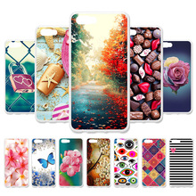 3D DIY Case For ZTE Nubia M2 Lite Silicone Flamingo Painted Cover Fundas Coque Housings
