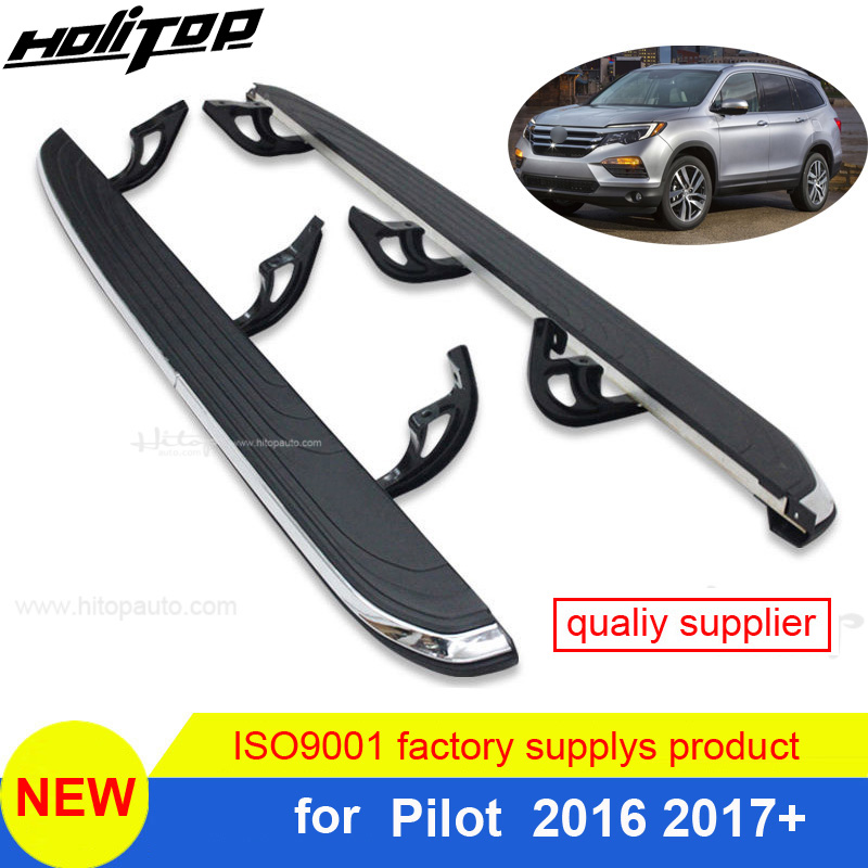 hot nerf bar foot board side step for Honda Pilot 2016 2017,OE model.Top quality from Hitop SUV factory.free shipping to Asia.