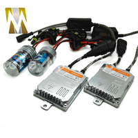 Yeni Otomatik HID Kit AC 55 W H8 H9 H11 H7 9005 9006 Xenon ampul Kiti HID Balast Araç Far Lambası 4300 k 6000 k 8000 k Işık Kaynağı için