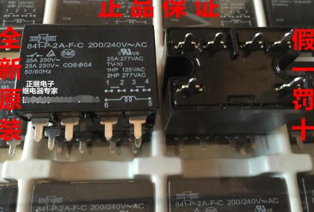 Relay 841-P-2A-F-C 200 / 240V ~ AC