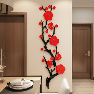 3D Acrylic Flower Wall Sticker