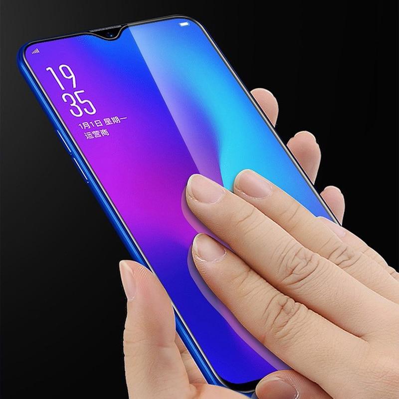 Redmi 7 Note7 Pro Anti niebieski szkło hartowane Xiaomi Redmi Note 7 Pro szkło Xiaomi Redmi 7A K20 Pro pełny pokrywa folia ochronna na ekran 11