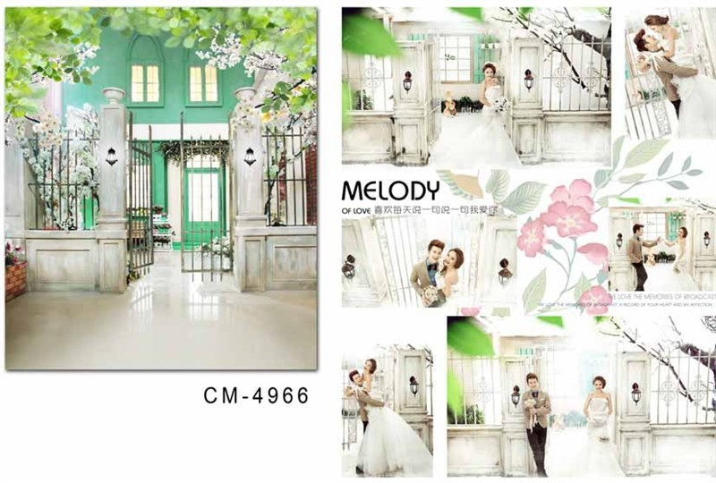 5X7ft Outdoor Street Wedding Photography Fabric Backgrounds Pictorial Cloth Curtain Computer Printed Vinyl Backdrops Background In From Consumer