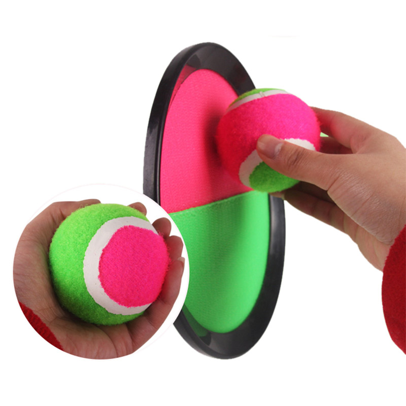 Ball Game Toy : Two rackets with ball