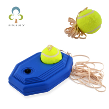 Резиновый Теннисный тренировочный станок и теннисный мяч Pratice, добавляющая воду база для начинающих теннисных тренировок, спорта на открытом воздухе WYQ