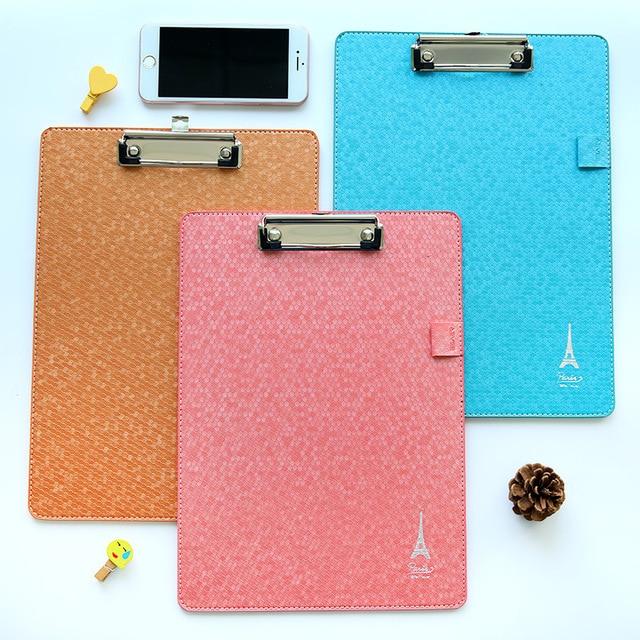 1pcs a4 clipboard folder folder korean korea stationery folder clip