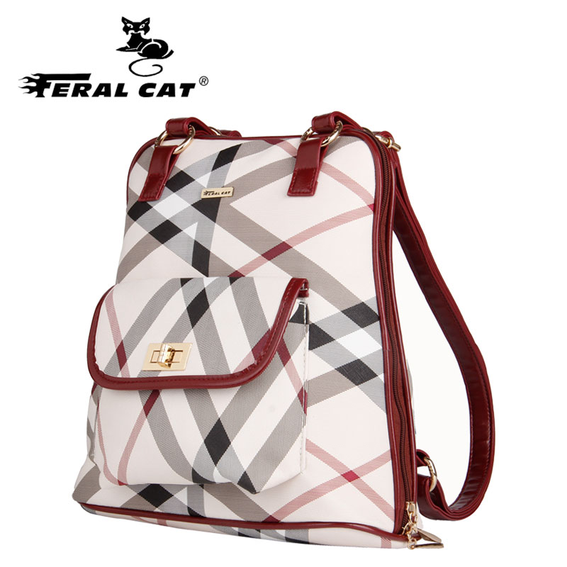 2017 Fashion Women Backpack High Quality Leather plaid Backpacks for Teenage Girls Female School Shoulder Bag Bagpack mochila aequeen fashion leather backpack women shoulder backpacks school bag for teenage girls high quality new travel bag female