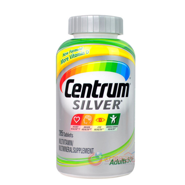 Plata Centrum Multivitamínico y Multimineral-285 Tabletas