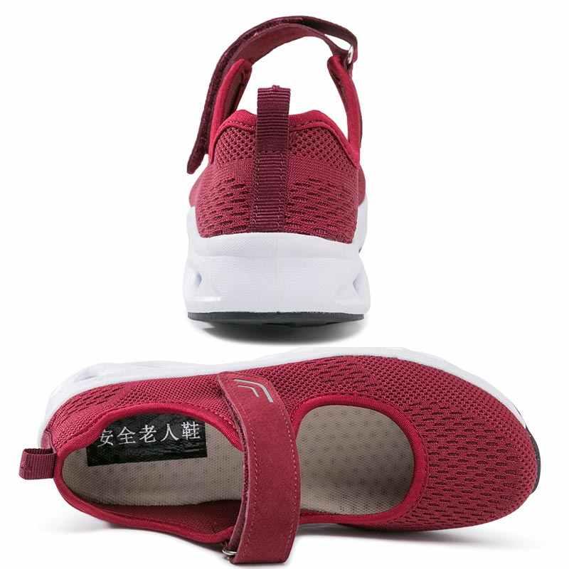 e17fcff8d7 Hundunsnake mesh women running shoes sports women sport sneakers female  shoe training summer footwear blue chaussure femme B-064
