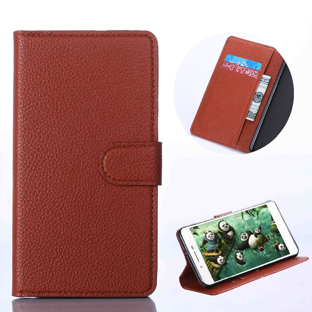 QIJUN Luxury Retro PU Leather Flip Wallet Cover Coque For Huawei P8 Lite 2017 p8lite Case For P8 P 8 Lite Stand Card Slot Fundas in Flip Cases from Cellphones Telecommunications