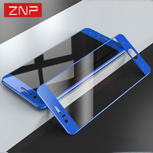 ZNP 9H Full Screen Protective Tempered Glass For Honor 9 High quality Hard Protector Film For Honor 9 Tempered glass Full cover
