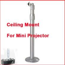 Aleación de aluminio Universal de Pared Percha Soporte Para Mini Proyector DLP LED Proyector de Montaje En Techo de 30 a 60 cm Telescópica Tength