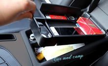Левой рукой диск! Для Audi A4 B9 2017 2018 интерьер подлокотник ящик для хранения Организатор Чехол 1 шт. автомобиль укладки аксессуаров!