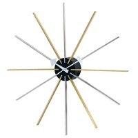 Классические Оригинальные дизайнерские Звездные большие настенные часы DIA 61cm silence/Настенные часы напрямую с фабрики Шеньчжень распродажа/б