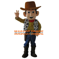 Cartoon Mascot Costume Cow Boy Mascot Costumes Woody Costume For Party for Halloween party event