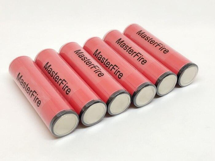 MasterFire vente en gros Sanyo 3.7 V 18650 NCR18650GA 3500 mAh 10A décharge continue Rechargeable Li-ion batterie protégée avec PCB