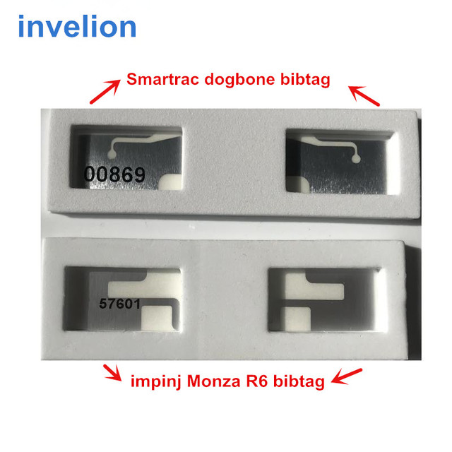 running timing chip race result systems ISO18000-6C impinj Monza R6 uhf rfid tag sticker bib tags with foam