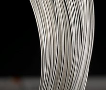 925 hallazgo de Plata Esterlina Sólida 1 metros de alambre de plata Joyería de Plata esterlina 0.8mm Varilla Para encontrar de la joyería