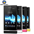 Original st25 sony xperia u st25i teléfono celular androide 5mp 3g wifi gps del teléfono móvil del envío gratis