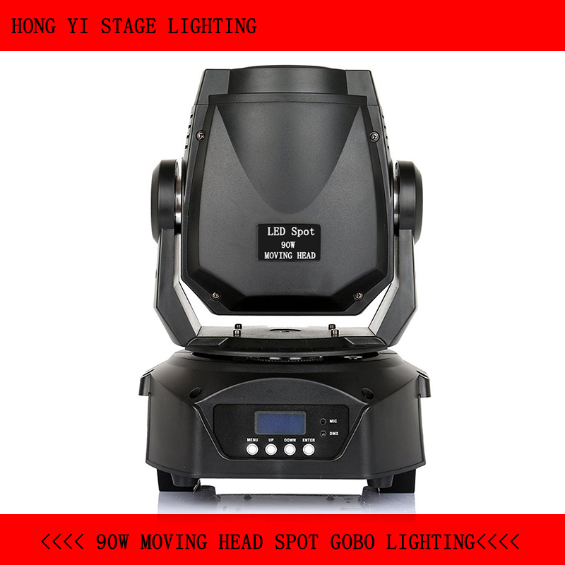 90w led moving head spot mini stage gobo light mini beam moving head Led Follow Spot DMX Stage Holiday Light Projector DJ цена