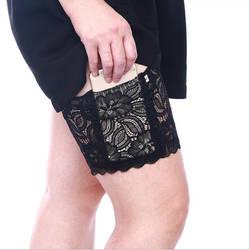 1 шт. противоскользящие кружевные носки для подарков подвязки гетры носки до бедер Нескользящие кружевные женские манжеты бедра Уход за