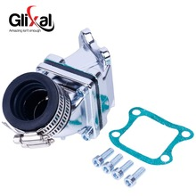 Glixal Dio AF18 AF28 AF27 49cc 50cc 高性能ジョグ入口パイプ CX ため ZX SE50 SK50 SA50 エリート 2T スクーター