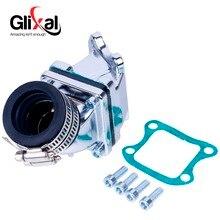 Glixal Dio AF18 AF28 AF27 49cc 50cc ביצועים גבוהים מרוצי צריכת סעפת צינור כניסה CX ZX SE50 SK50 SA50 עלית 2T קטנוע