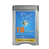 High Quality!!! 18 in 1 Memory Card Adapter MMC SD SDHC SDXC MS PRO XD Card into PC Card Adapter