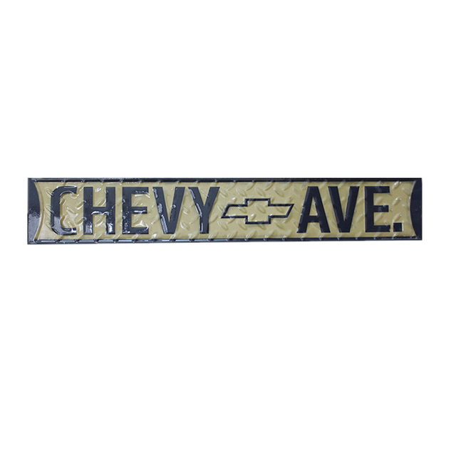 Chevy Ave Metal Tin Signs For Bar Pub Club Garage Home Decor Vintage  Rectangle Wall Art