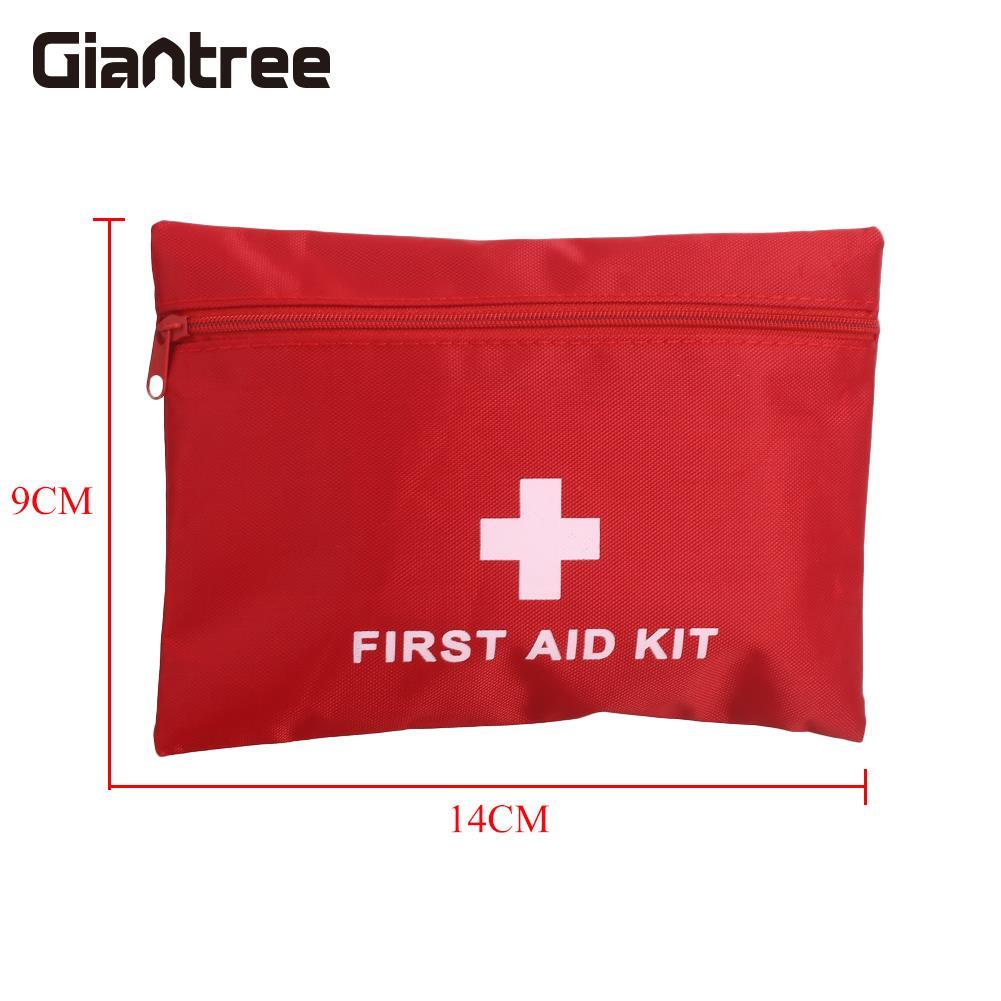 все цены на First Aid Kit Canvas Car Lightweight Medical Emergency Bag 15pcs/Set Travelling Rescue Bag Picnic