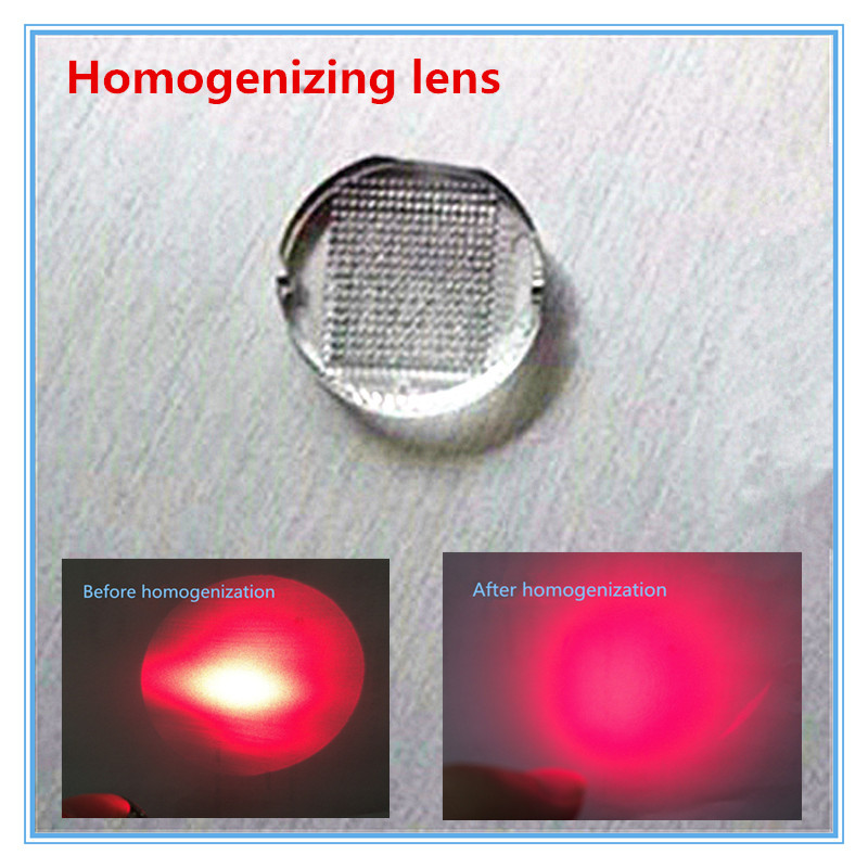 Laser Homogenization Lens Suitable For Plant Growth Lamp / Laser Therapy / Laser Night Vision Application / Driverless Light Sou