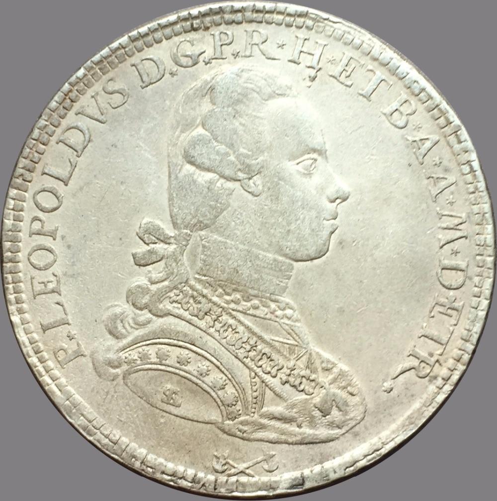 Italian states firenze pietro leopoldo 1777 francescone 90 for Coin firenze